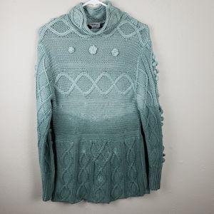5/$25 Bundles Vintage Together Green Sweater M